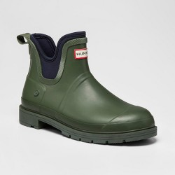 Hunter for Target Men's Waterproof Ankle Rain Boots - Olive