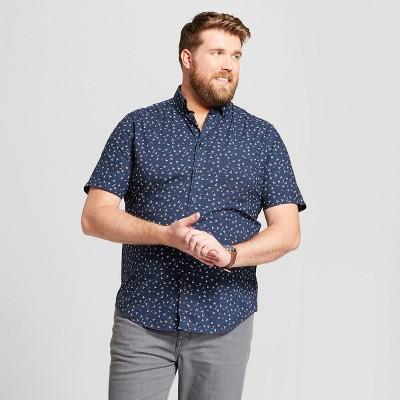 Big Dress Shirts Men's Casual