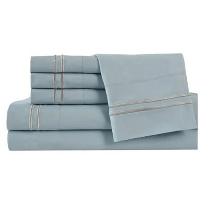 Microfiber Double Marrow Sheet Sets (King)Blue Haze - Elite Home Products