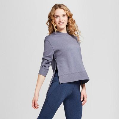Women's Cozy Layering Sweatshirt - JoyLab™ Heather Gray S