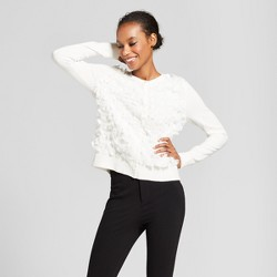 Women's Embellished Any Day Cardigan - A New Day™ Cream