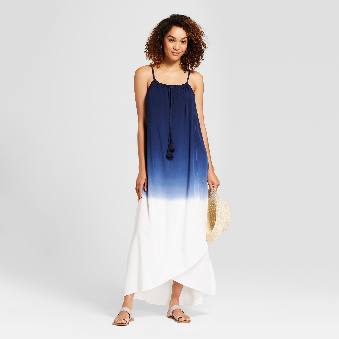 "Women's Braided Strap Maxi Dress - Knox Roseâ""¢ Navy - image 1 of 2"