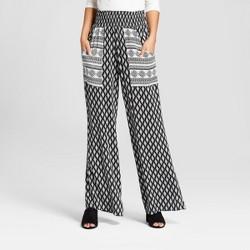 Women's Smocked Waist Pants - Xhilaration™