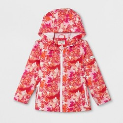 Hunter for Target Toddlers' Abstract Print Packable Rain Coat - Pink
