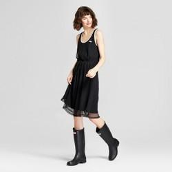 Hunter for Target Women's Mesh A-Line Dress - Black