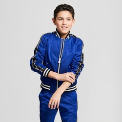 Hunter for Target Boys' Chain Trim Track Jacket - Blue
