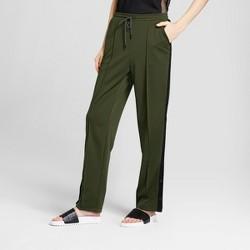 Hunter for Target Women's Tapered Side Snap Track Pants - Olive