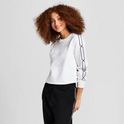 Hunter for Target Women's Chain Trim Sweatshirt - White