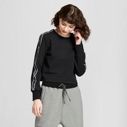 Hunter for Target Women's Chain Trim Sweatshirt - Black
