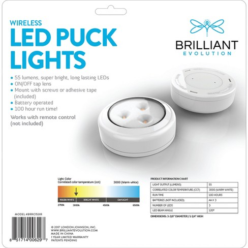 Led puck light 3pk target aloadofball Images