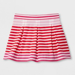 Hunter for Target Girls' Striped Performance Pleated Skirt - Pink