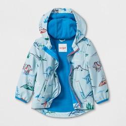 Toddler Boys' Dinosaur Hooded Softshell Jacket - Cat & Jack™ Aqua
