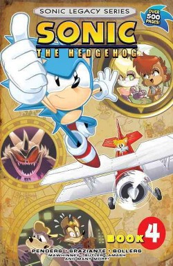 Sonic Legacy 4 -  (Sonic the Hedgehog: Legacy) (Paperback)