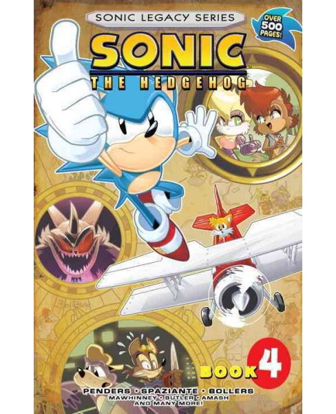 Sonic Legacy 4 -  (Sonic the Hedgehog: Legacy) (Paperback) - image 1 of 1