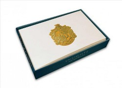 Harry Potter Hufflepuff Crest Embossed Foil Gift Cards -  (Stationery)
