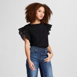 Women's Ruffle Sleeve T-Shirt - A New Day™