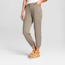 Women's Soft Cargo Jogger Pants - Knox Rose™ Olive