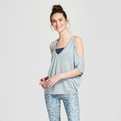 Women's Cold Shoulder Drape Top   Joy Lab™ by Joy Lab™