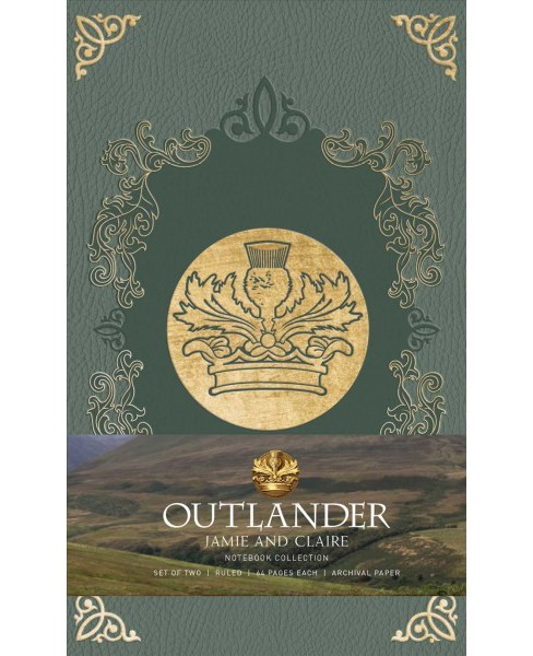 Outlander Journal Collection : Jamie and Claire (Paperback) (Insight Editions) - image 1 of 1