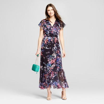 Floral-print tiered shirt dress style