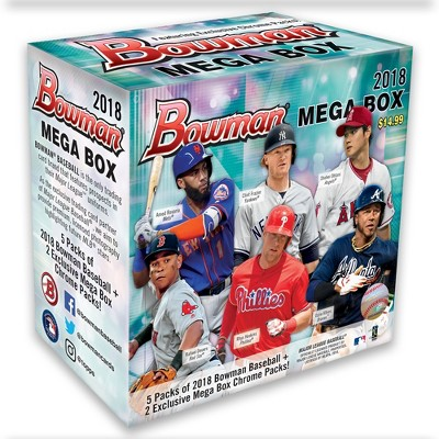 2018 Mlb Baseball Trading Card Topps Bowman Mega Box Target