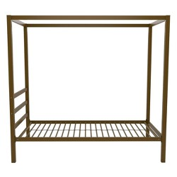 Modern Canopy Bed Gold - Dorel Home Products