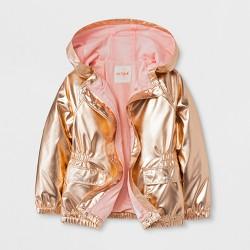 Toddler Girls' Jacket - Cat & Jack™ Rose Gold
