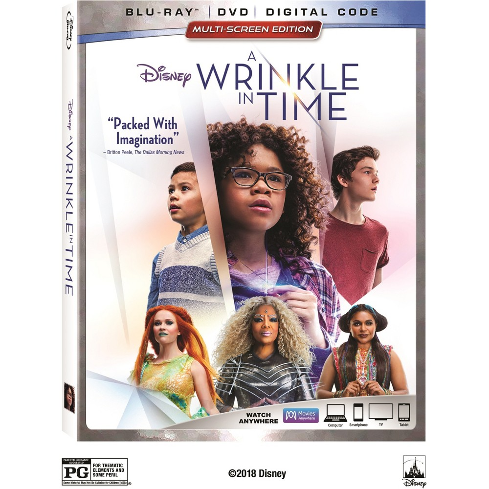 A Wrinkle In Time (Blu-Ray + Dvd)
