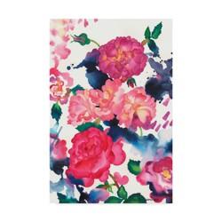 """Carissa Luminess A Rose Is Just A Rose Unframed Wall 30""""x47"""" - Trademark Fine Art"""