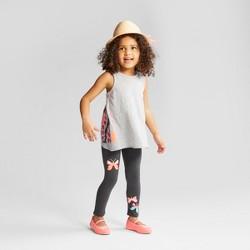 Toddler Girls' Top and Bottom Set - Cat & Jack™ Gray