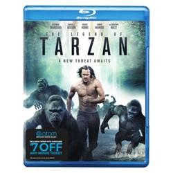 The Legend of Tarzan + Atom Ticket Offer (Blu-Ray)