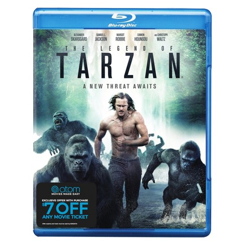 The Legend of Tarzan + Atom Ticket Offer (Blu-Ray) - image 1 of 1