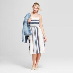 Women's Striped Strappy Dress - Universal Thread™
