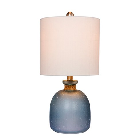Coastal Bottle Gl Table Lamp Blue Fangio Lighting