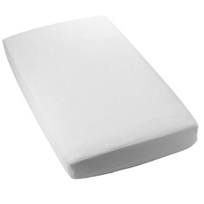 Royal Heritage 2pk Secure-Fitting Crib Sheet - White