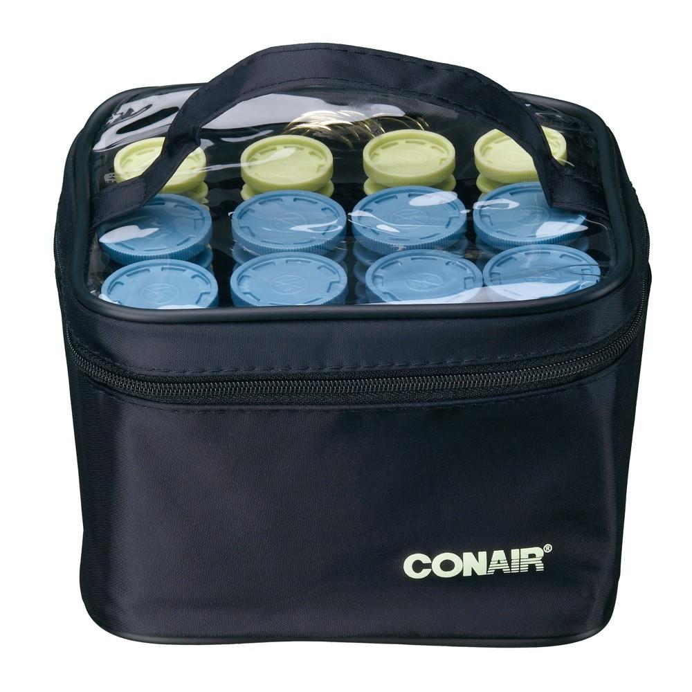 Conair Instant Heat Travel Hair Curlers, Black