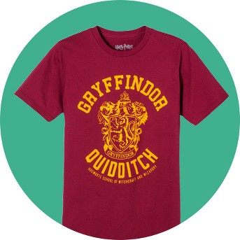 Men's Harry Potter® Gryffindor Quidditch Team T-Shirt - Burgundy