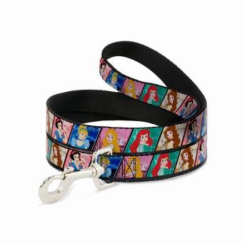 Disney Princess - Buckle-Down Dog Leash & Collar Set - M