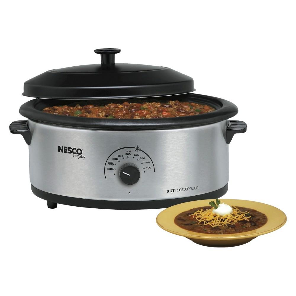 Nesco 6 Qt. Roaster Oven - Stainless Steel (Silver)