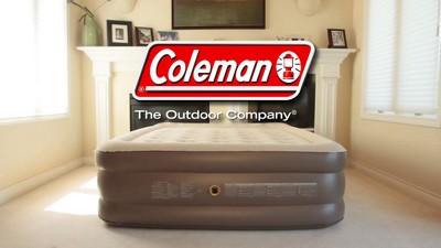Coleman Guestrest Double High Airbed Queen Gray Target
