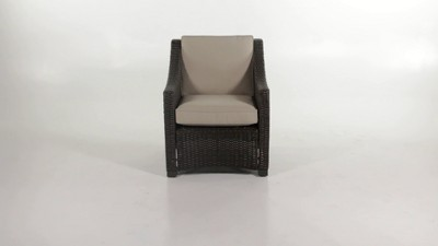 707a6fea8b5 Belvedere Wicker Patio Club Chair - Threshold™   Target