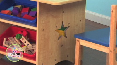 KidKraft Star Table Set with Primary Bins : Target