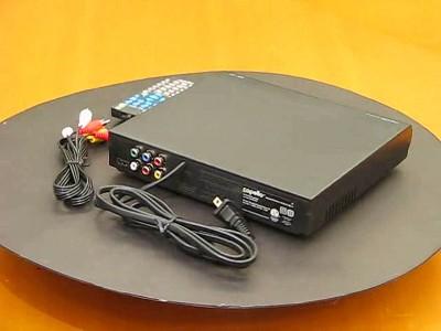 Capello 2 Channel HDMI DVD Player - Black