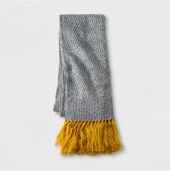 Women's Ribbed Knit Scarf - Universal Thread™