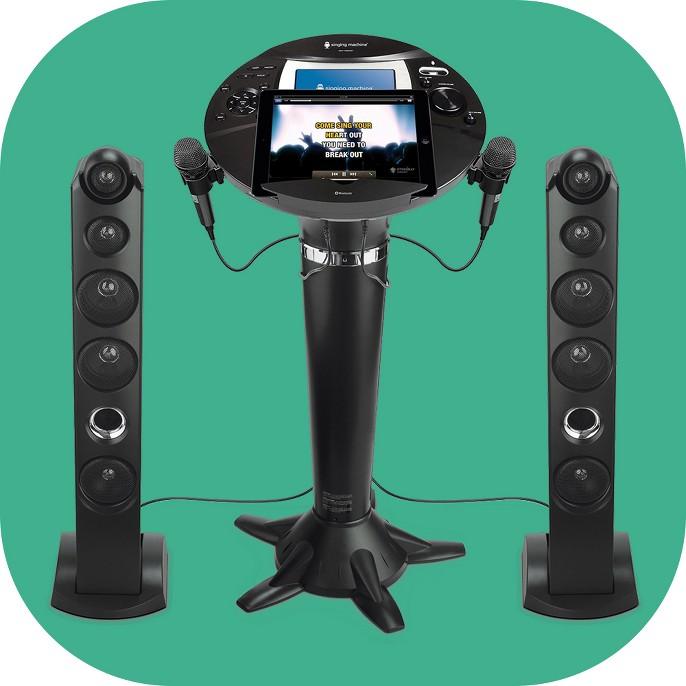 Singing Machine ISM1060BT Hi-Def Pedestal Karaoke System