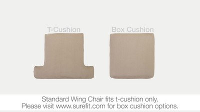stretch rib wing chair slipcover beach house tan sure fit target