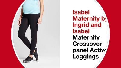 9c5c30384b0fd3 Shop all Isabel Maternity by Ingrid & Isabel. Play 52304484: Maternity  Crossover Panel Active Moto Leggings ...