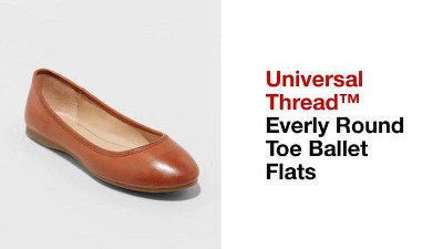 e9005d2ffd6a Women s Everly Wide Width Round Toe Ballet Flats - Universal Thread ...
