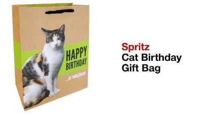 Happy Brithday Cat Gift Bag