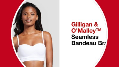 8b60a49a4f5 Women s Seamless Bandeau - Gilligan   O Malley™ - White M   Target